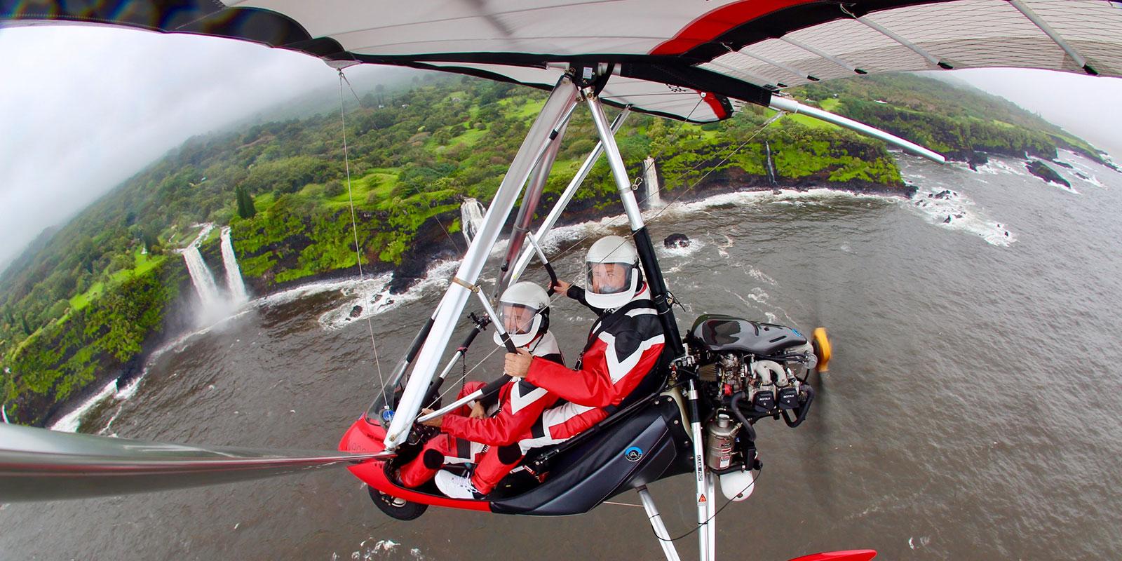 Hang Gliding Maui - Powered Hang Glider Flights in Maui, Hawaii
